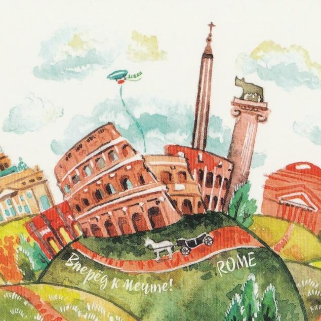 Ansichtkaart Rome.