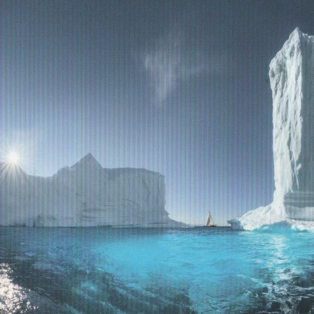 Ansichtkaart IJsbergen 2.0