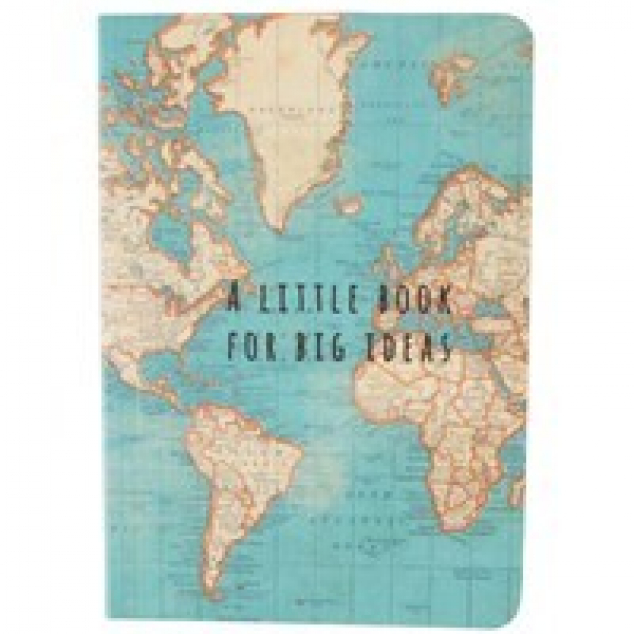 Vintage Notebook. A little Book for Big Ideas.