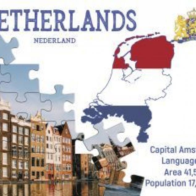 Ansichtkaart Nederland.
