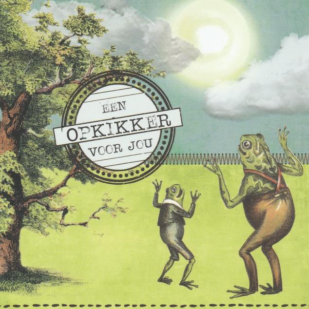 Ansichtkaart Een Opkikker voor Jou.