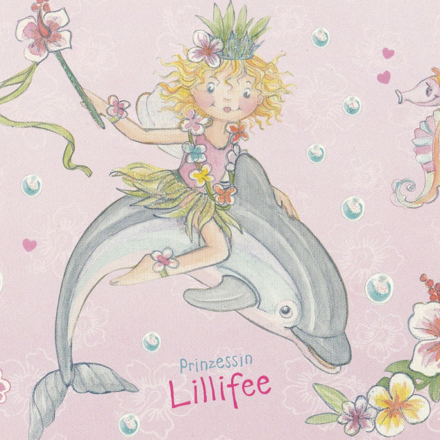Ansichtkaart Prinses Lillifee.