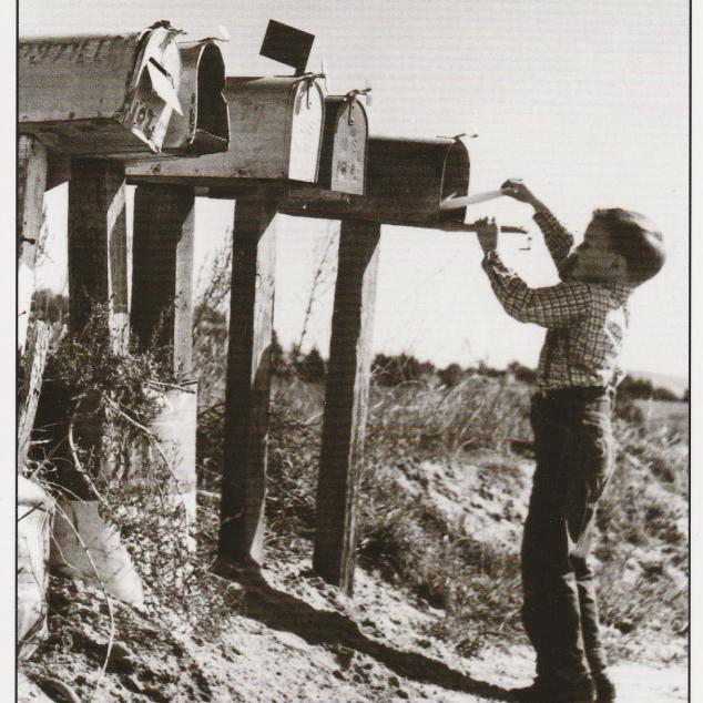 Ansichtkaart Brief Posten aan het Strand.