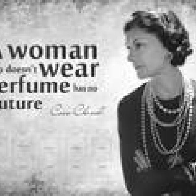 Ansichtkaart Coco Chanel.