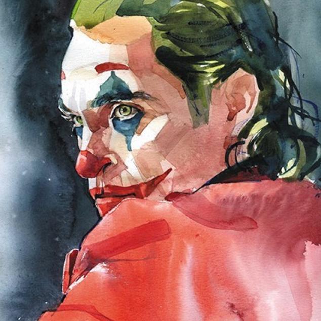 Ansichtkaart De Joker.