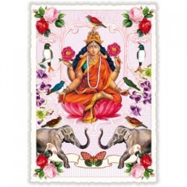 Ansichtkaart Lakshmi.