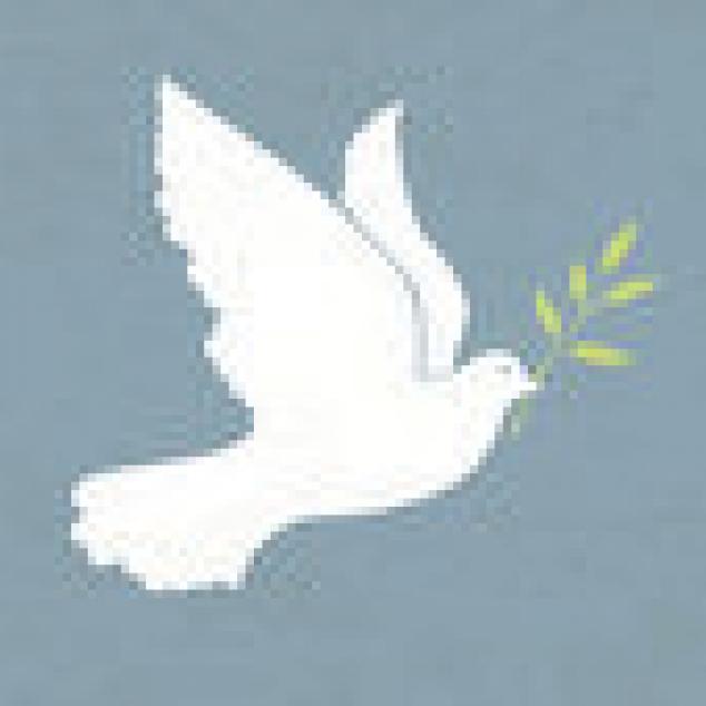 Ansichtkaart Kom in Vrede