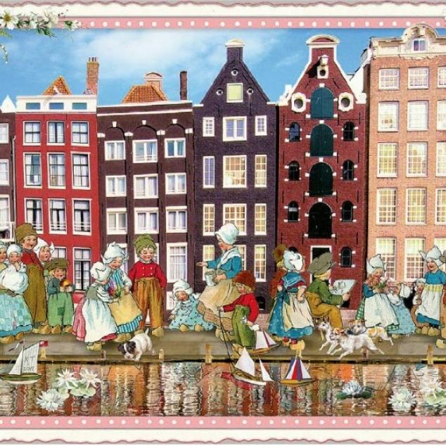 Ansichtkaart Holland.