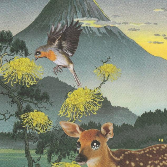 Ansichtkaart Bambi Eyes.