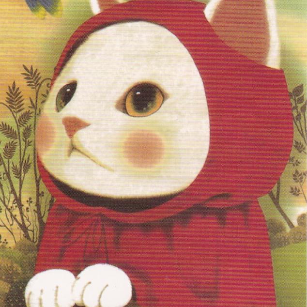 Ansichtkaart Jetoy - Rood Katje.