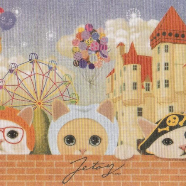 Ansichtkaart Jetoy - In een Pretpark.