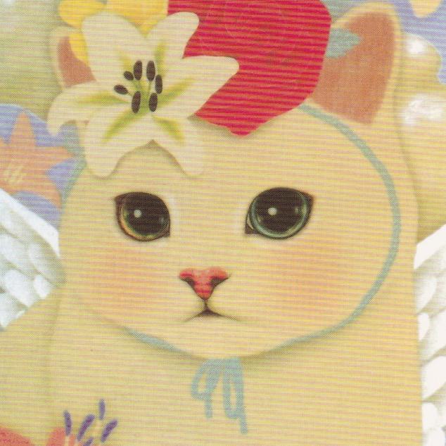 Ansichtkaart Jetoy - Bloemen op mijn hoofd.