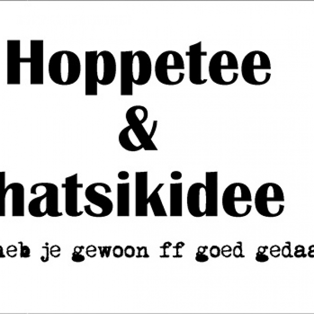 Ansichtkaart Hoppetee & Hatsikidee.