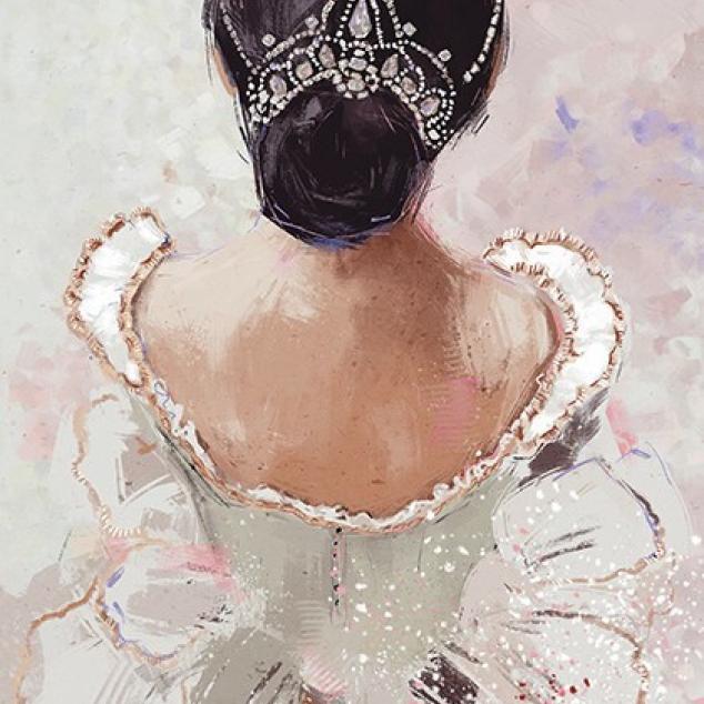 Ansichtkaart Prima Ballerina.