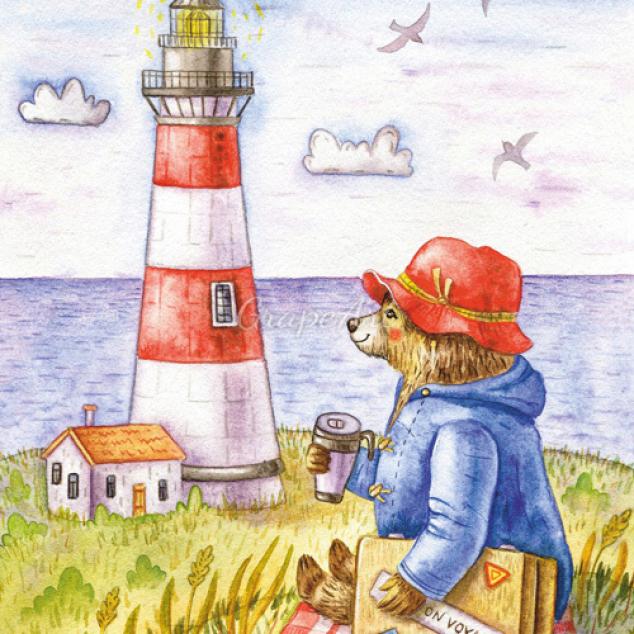 Ansichtkaart Paddington aan Zee.