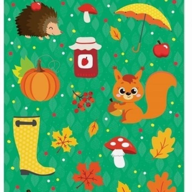 Stickers Herfst.