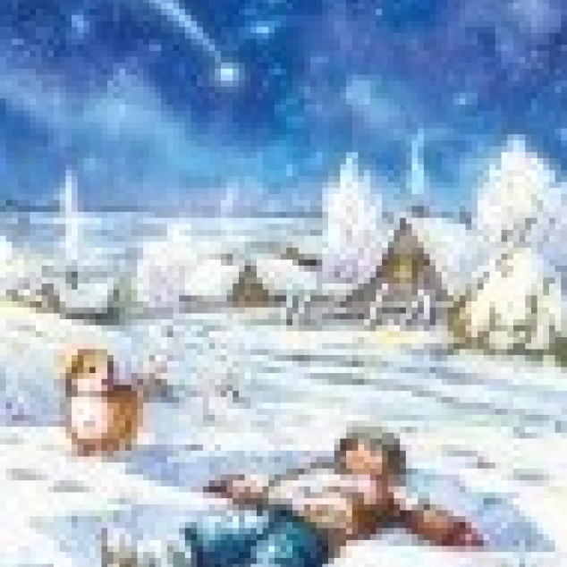 Ansichtkaart Sneeuwengel.