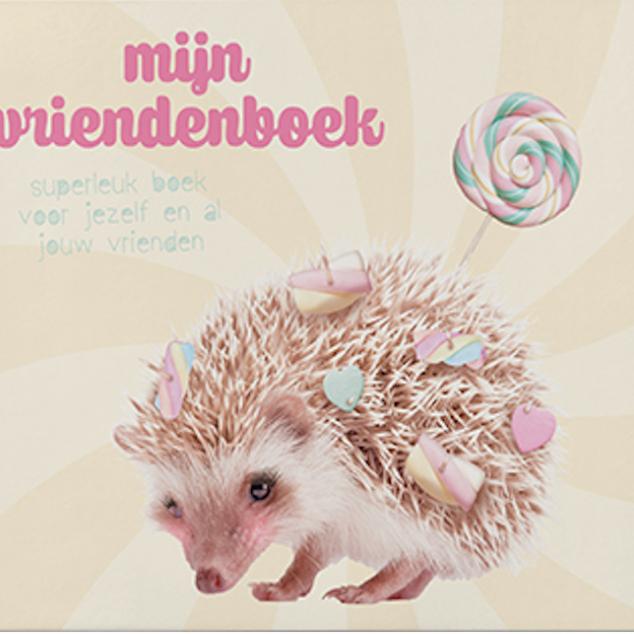Mijn Vriendenboek Egeltje.