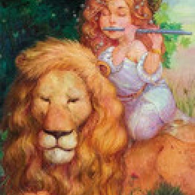 Ansichtkaart The Lion sleeps tonight.