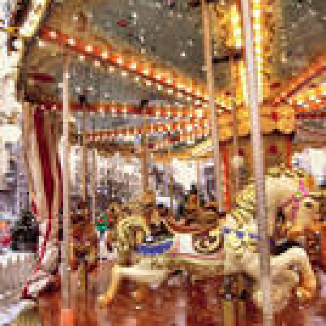 Ansichtkaart Carrousel.