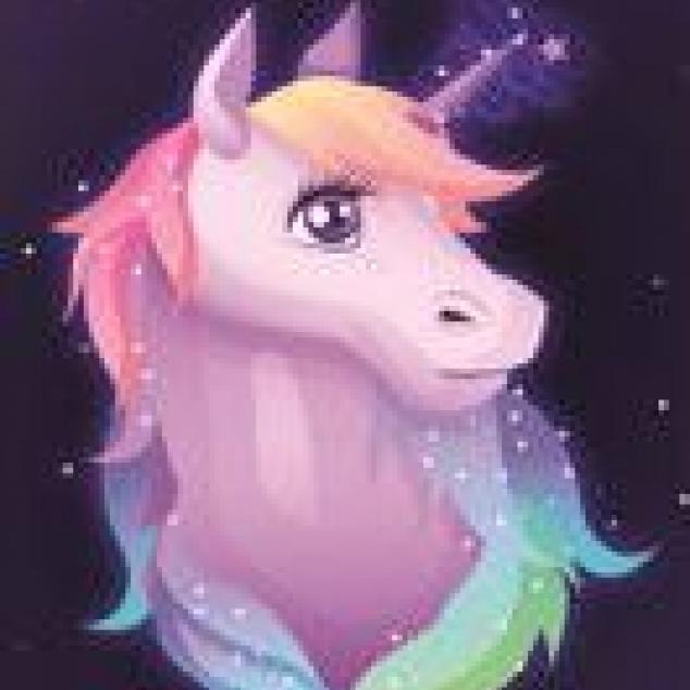 Ansichtkaart Unicorn.